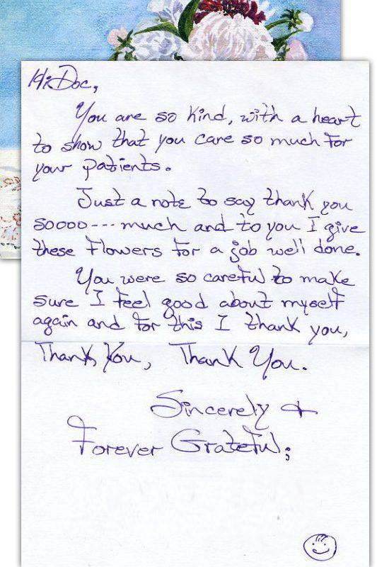 I Thank you, Thank you, Thank you - Thank You Card