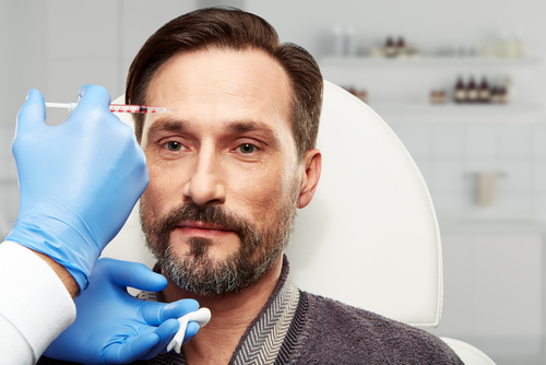 clinic of aesthetic medicine, procedure on male forehead-img-blog