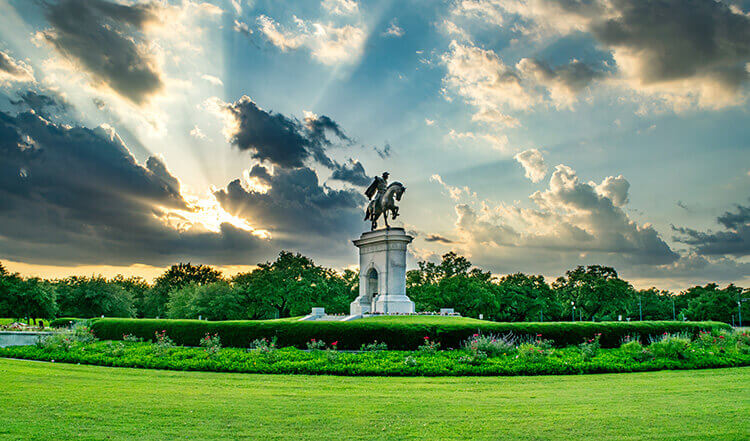 Houston Water Fountain