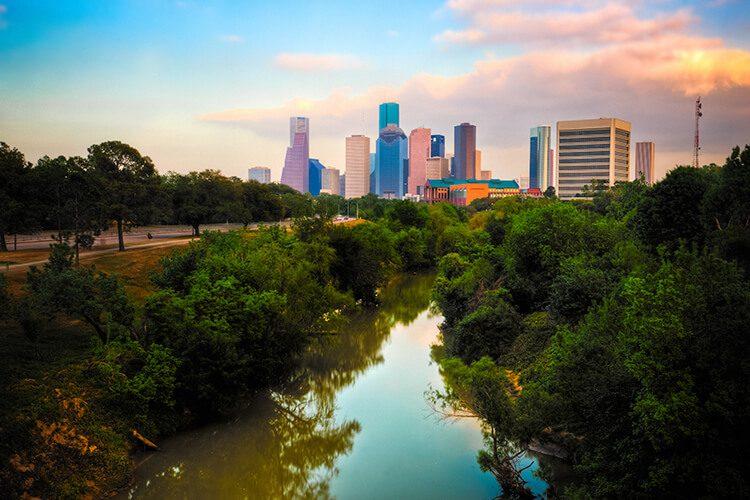 Houston City River